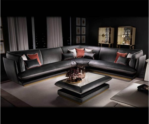 Adora Allure Italian Corner Group Sofa