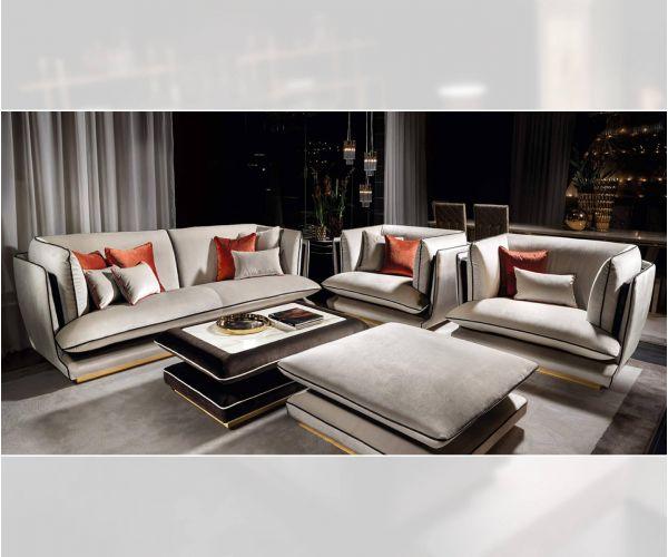 Adora Allure Italian 3+1+1 Sofa Suit