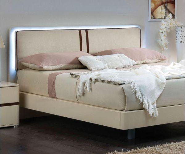 Camel Group Altea Ivory Finish Storage Bed Frame