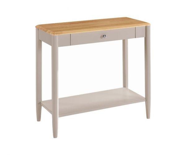 Annaghmore Altona Oak and Stone Grey Sofa Table