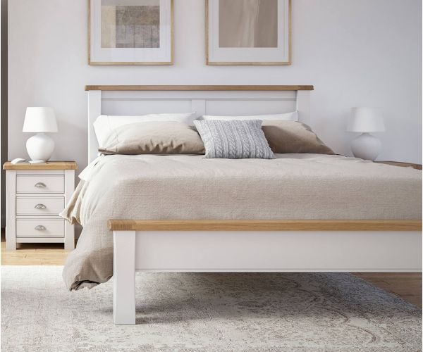 Vida Living Amberly Painted Low Footend Panel Bed Frame
