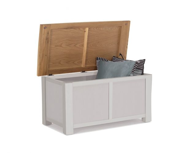 Vida Living Amberly Painted Blanket Box