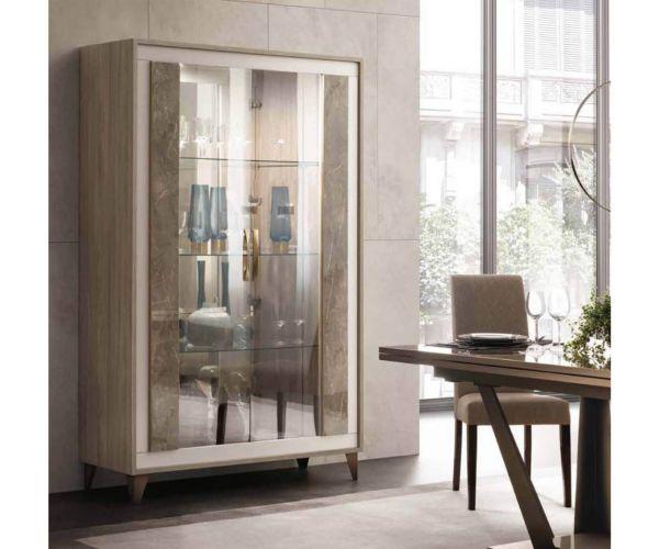 Arredoclassic Ambra Italian 2 Door Display Cabinet