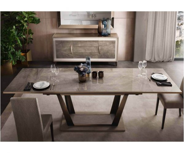 Arredoclassic Ambra Italian Extension Dining Table