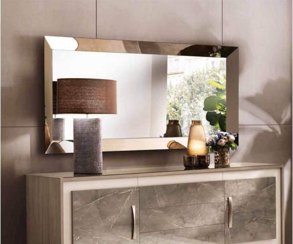 Arredoclassic Ambra Italian Large Wall Mirror