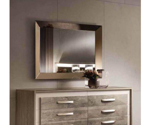 Arredoclassic Ambra Italian Small Wall Mirror