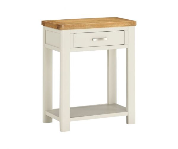 Annaghmore Andorra Painted 1 Drawer Console Table