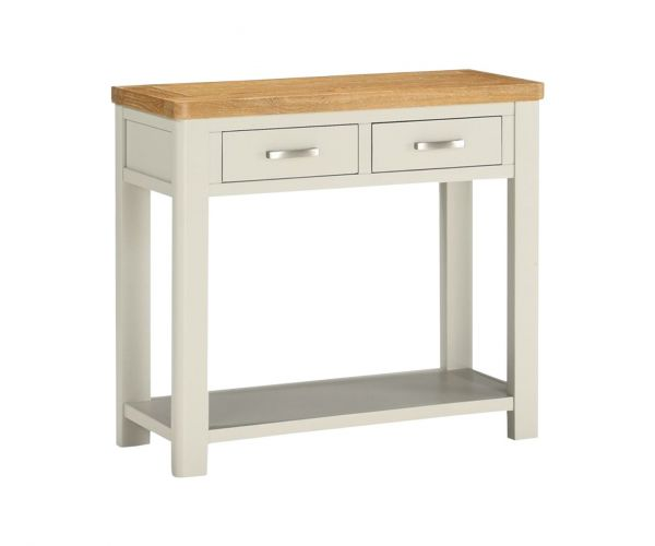 Annaghmore Andorra Painted 2 Drawer Console Table