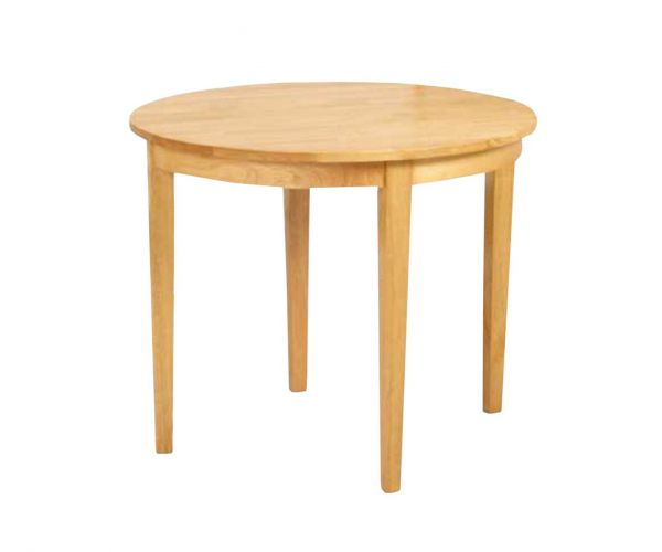 Annaghmore Hanover Light Oak Half Moon Dining Table Only