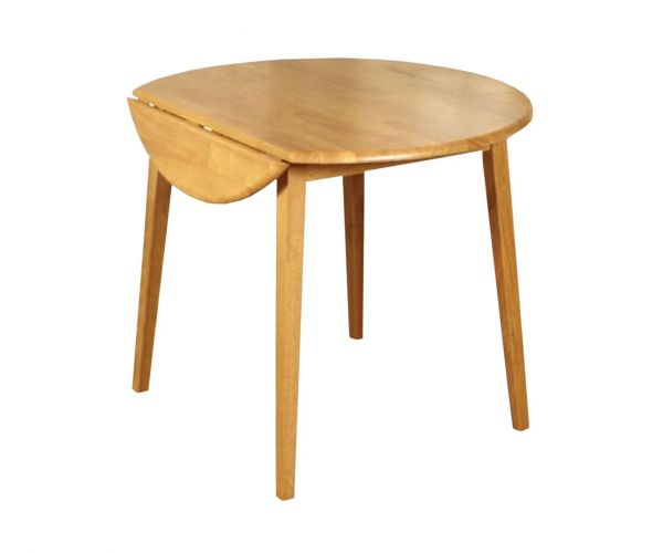 Annaghmore Hanover Round Drop Leaf Dining Table only