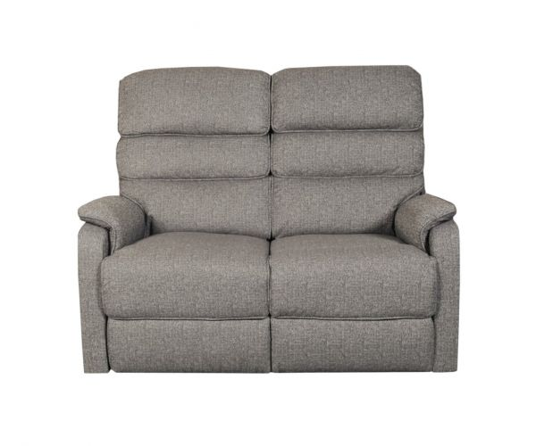 Annaghmore Westport Charcoal Fabric Recliner 2 Seater Sofa