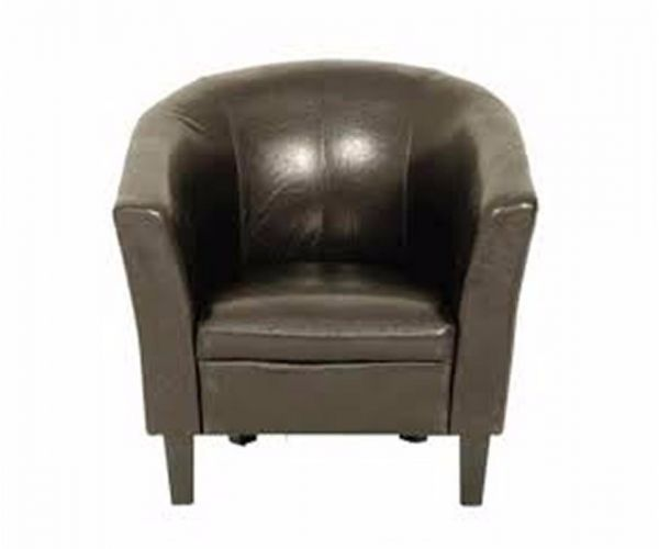Annaghmore Colby Tub Leather Chair