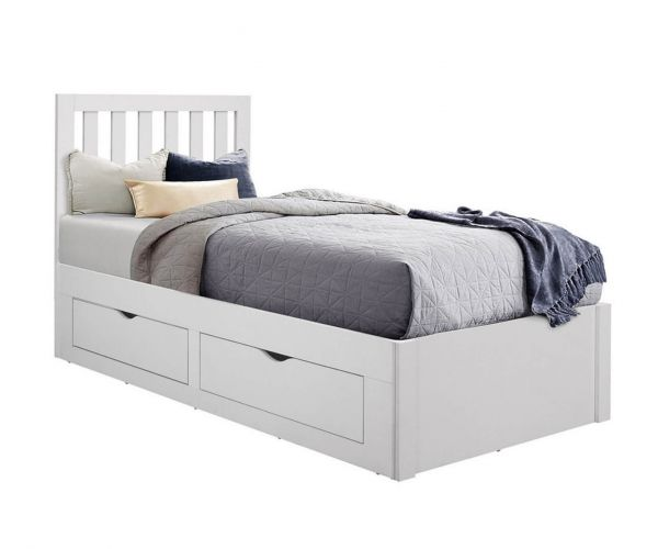 Birlea Furniture Appleby White Single Bed Frame