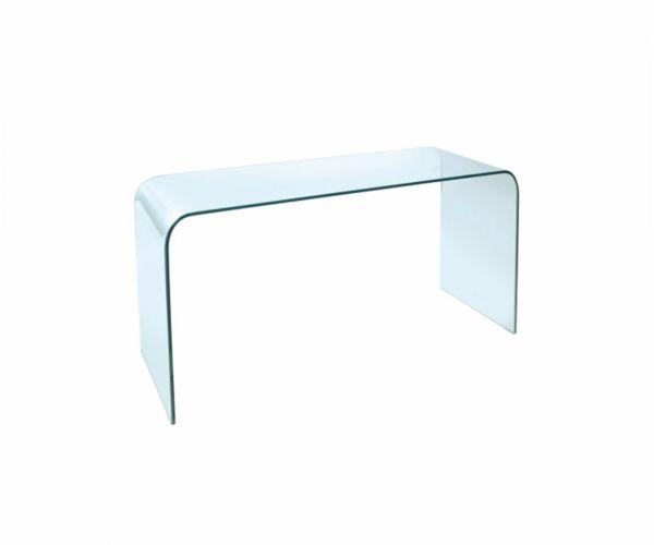 Greenapple Furniture Arc Glass Console Table