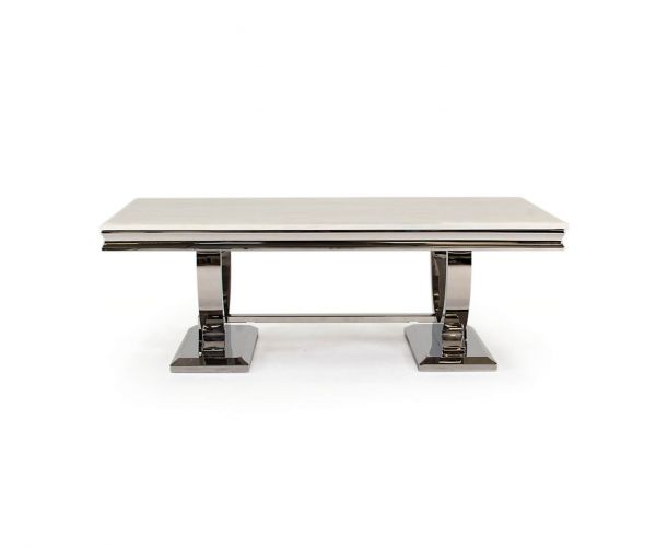 Vida Living Arianna Marble Top Coffee Table