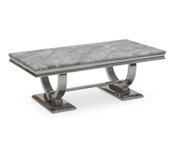 Vida Living Arianna Grey Coffee Table