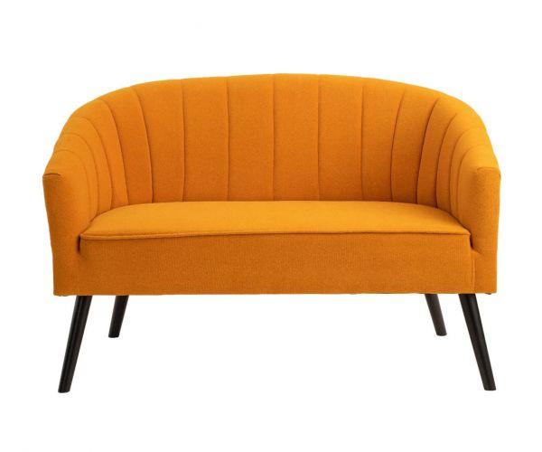 Derrys Furniture Arlo Mustard 2 Seater Sofa
