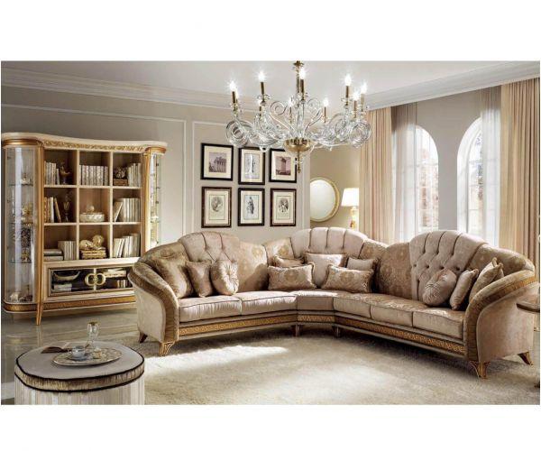 Arredoclassic Melodia Italian Corner Sofa Set