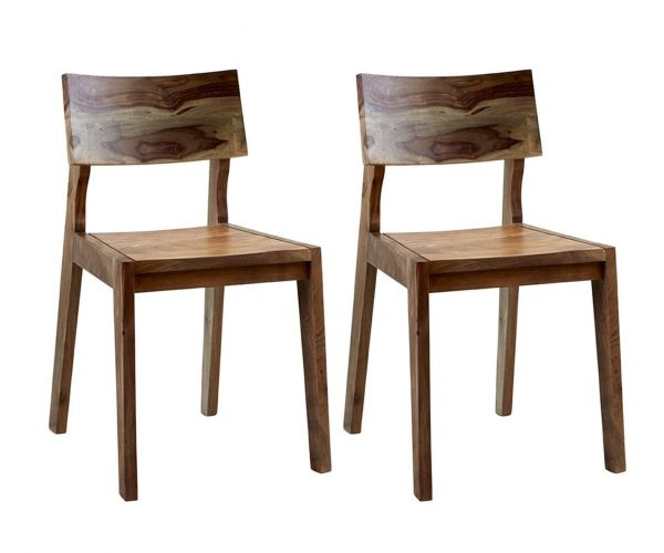 Indian Hub Aspen Dining Chair in Pair