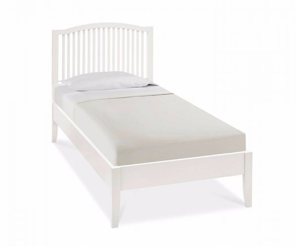 Bentley Designs Ashby White Slatted Bed Frame