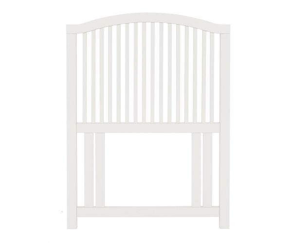 Bentley Designs Ashby White Slatted Headboard