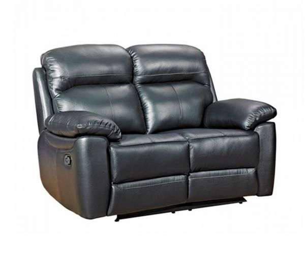 Furniture Link Aston Leather 2 Seater Recliner Sofa