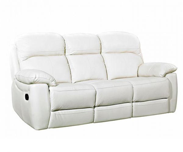 Furniture Link Aston Leather 3 Seater Recliner Sofa
