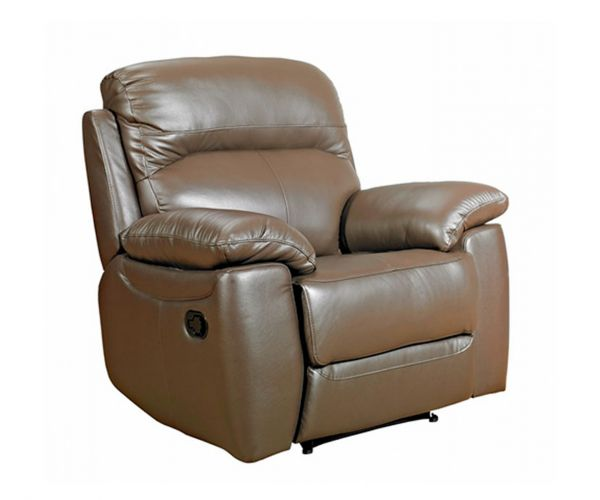 Furniture Link Aston Brown Leather Armchair