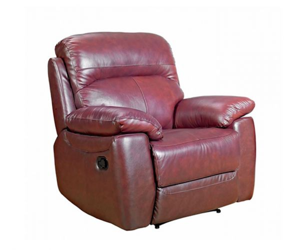 Furniture Link Aston Chestnut Leather Armchair
