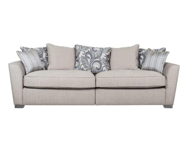 Buoyant Upholstery Atlantis 4 Seater Modular Pillow Back Sofa