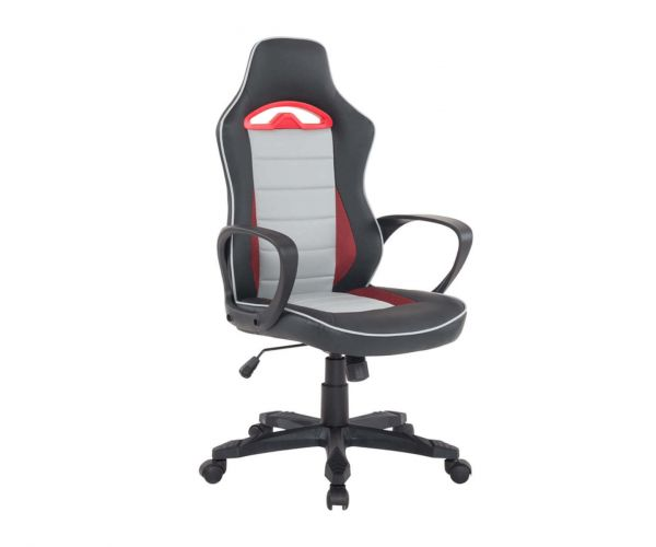 Vida Living Axel White Gaming Office Chair