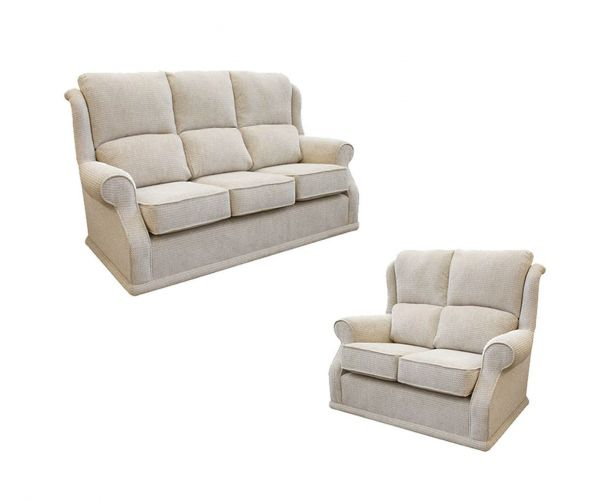 Buoyant Upholstery Balmoral Fabric 3+2 Sofa Set
