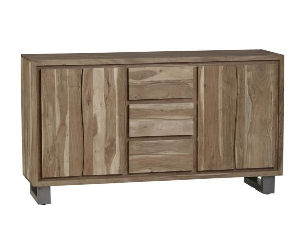 Indian Hub Baltic Live Edge Extra Large Sideboard