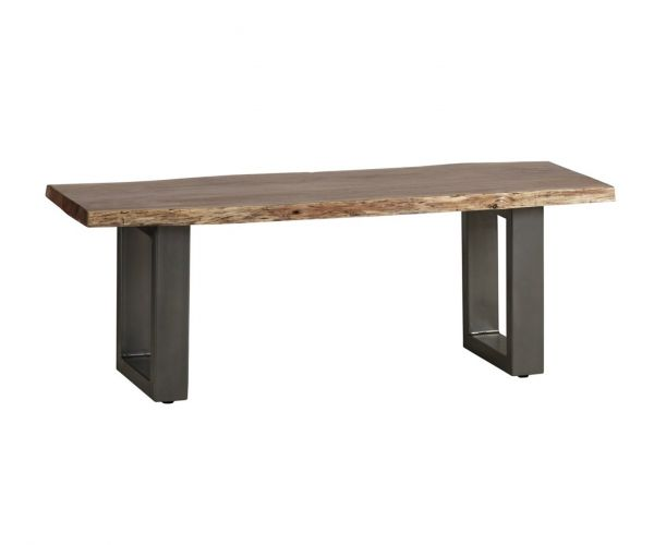 Indian Hub Baltic Live Edge Medium Bench