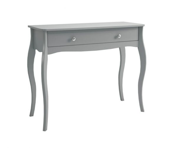 Steens Baroque Grey 1 Drawer Dressing Table