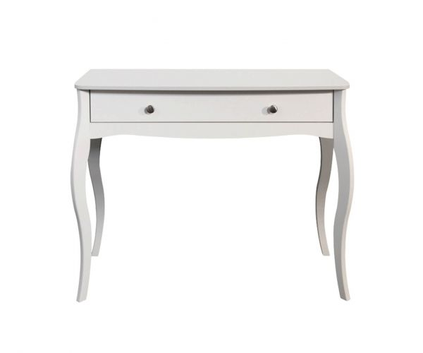 Steens Baroque White 1 Drawer Dressing Table
