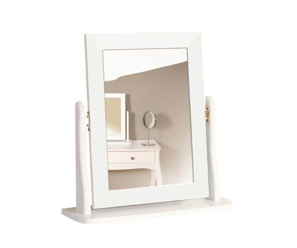 Steens Baroque White Dressing Table Mirror