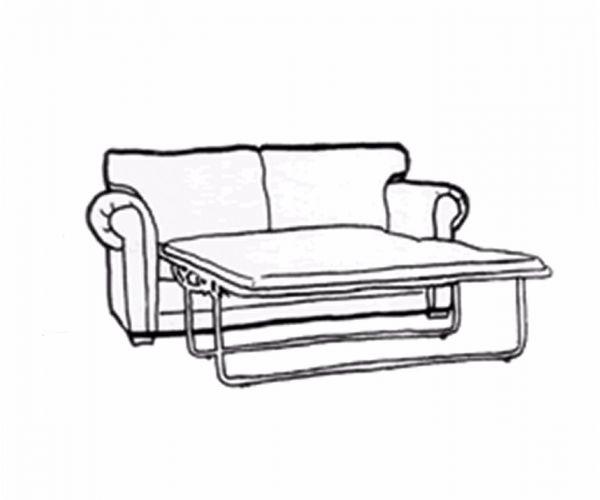 Camel Group Dama Bianca 3 Seater Sofa Bed