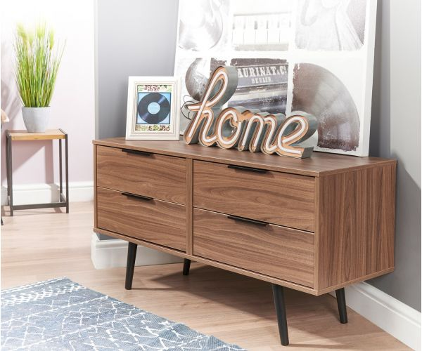 Welcome Furniture Hong Kong Noche Walnut 4 Drawer Bed Box