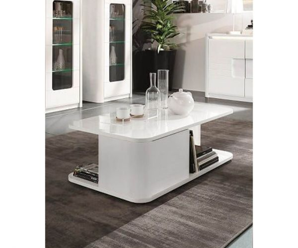 Derrys Furniture Bellini White High Gloss Coffee Table