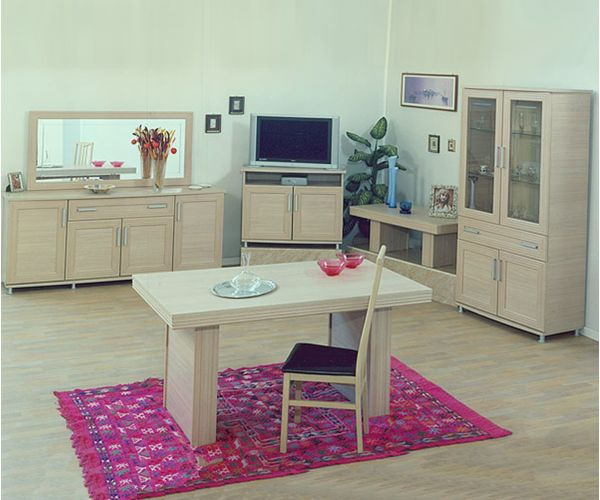 Ben Company Sonia Light Oak Italian TV Cabinet