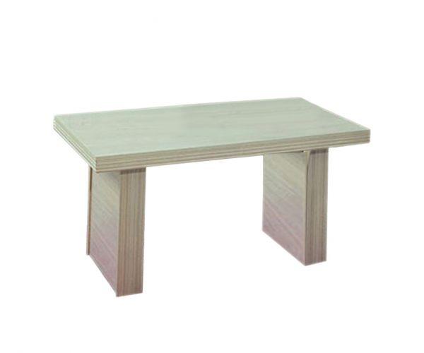 Ben Company Sonia Light Oak Italian Dining Table