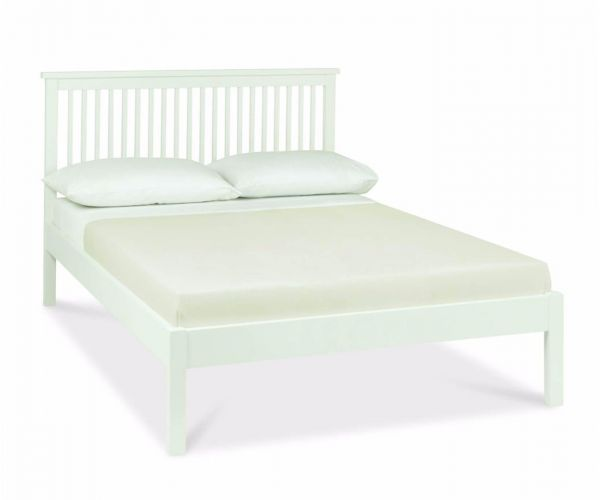Bentley Designs Atlanta White Low Footend Bed Frame