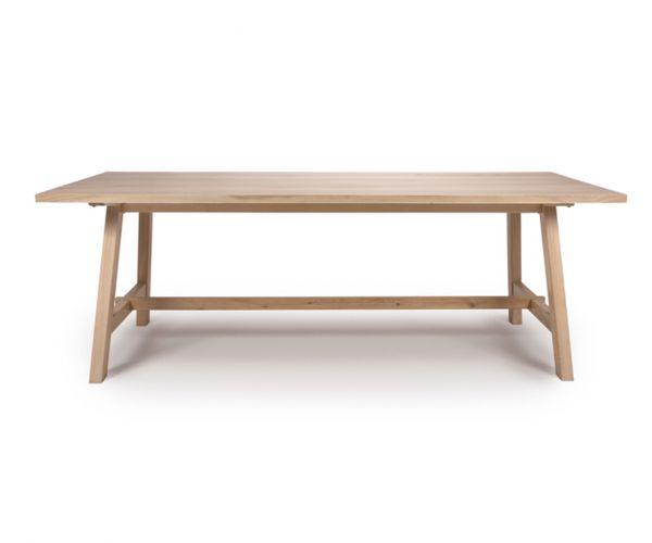 Furniture Line Bergen Oak 180cm Dining Table Only