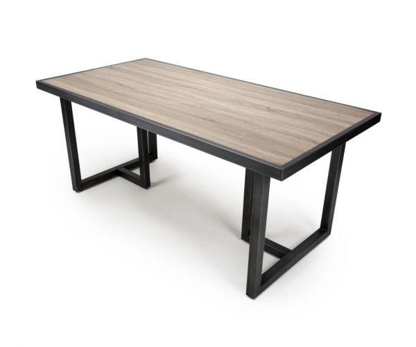 Shankar Bergen Medium Industrial Dining Table