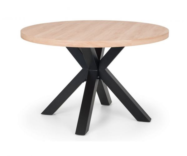 Julian Bowen Berwick Round Dining Table Only