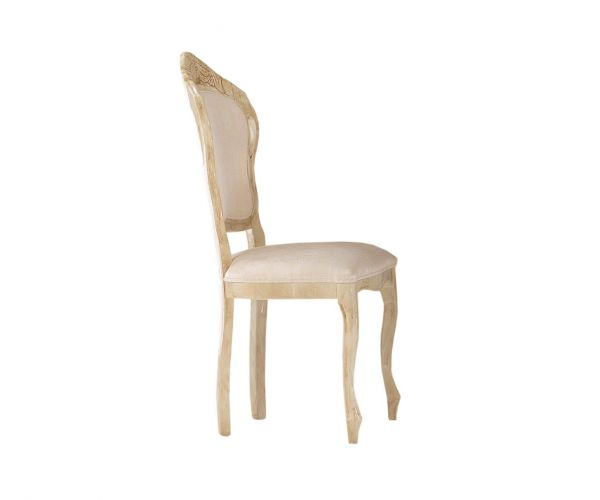 Ben Company Betty Beige Finish Italian Dining Chair