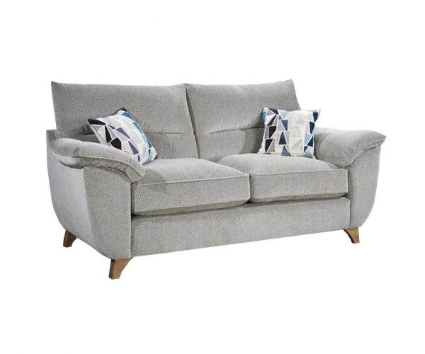 Lebus Billie High Back Fabric 2 Seater Sofa