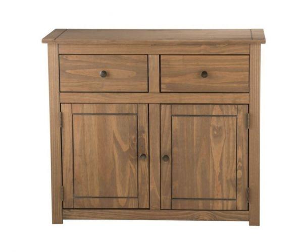 Birlea Furniture Santiago Pine 2 Door 2 Drawer Sideboard