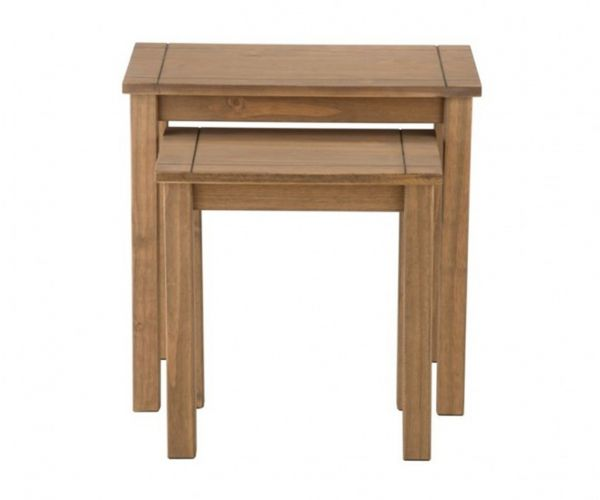 Birlea Furniture Santiago Pine Nest Of Tables